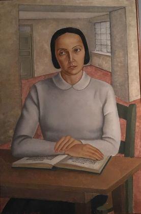 Lia Pasqualino Noto, L'infermiera, 1931. Palermo, Galleria d'Arte Moderna