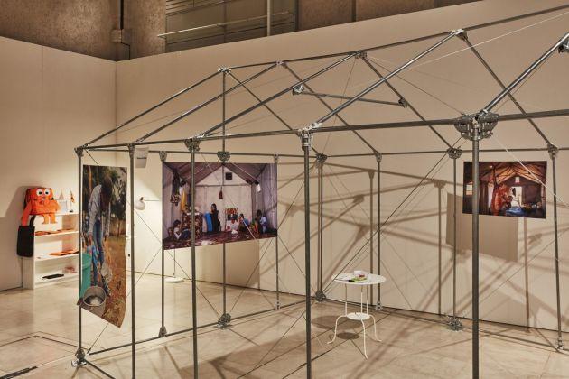 London Design Biennale 2018. Refugees Pavillion, Nairobi Design Week. Photo Ed Reeve