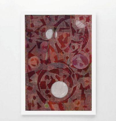 Luigi Carboni, L'occorrenza del ventaglio, 2017, courtesy Galleria Poggiali