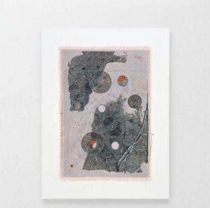 Luigi Carboni, Una giornata di vento e neve, 2015, courtesy Galleria Poggiali