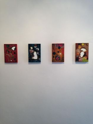 Luigi Carboni. Forme del reale e immagini perdute. Installation view at Galleria Poggiali, Pietrasanta 2018