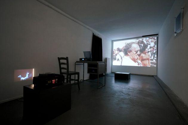 Magic Carpets, exhibition view at AlbumArte, Roma 2018, photo Luis do Rosario