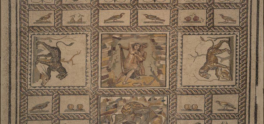 MarTa di Taranto, pavimento a mosaico