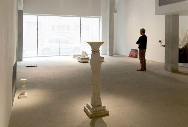 Margaux Bricler, Ici en excès sur toute présence. Exhibition view at Paradise Centre de recherche et d'expérimentation en Art Contemporain, Nantes 2017