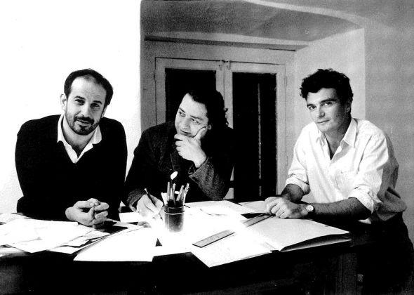 Mario Martone, Antonio Neiwiller e Toni Servillo nel 1987