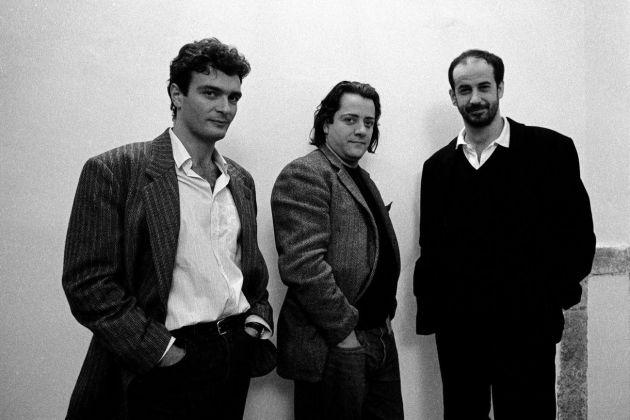 Mario Martone, Antonio Neiwiller e Toni Servillo. Photo (c) Cesare Accetta