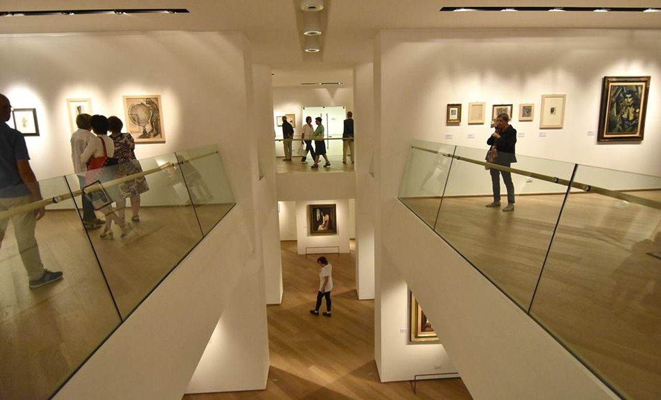 Mario Sironi. Exhibition view at Galleria Harry Bertoia, Pordenone 2018. Photo credits Archivio Comune di Pordenone