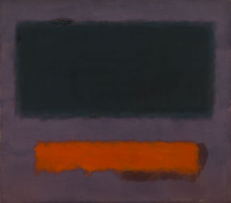 Mark Rothko, Grey, Orange on Maroon, No.8, 1960. Museum Boijmans Van Beuningen, Rotterdam, photo Studio Tromp, Rotterdam