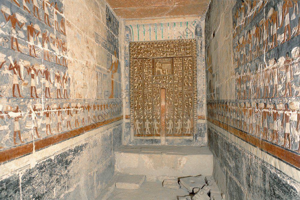 La tomba di Mehu, Il Cairo, Saqqara
