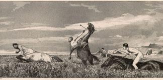 Max Klinger, Centauro inseguito 1881