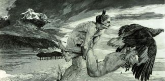 Max Klinger, Rapimento di Prometeo, 1894