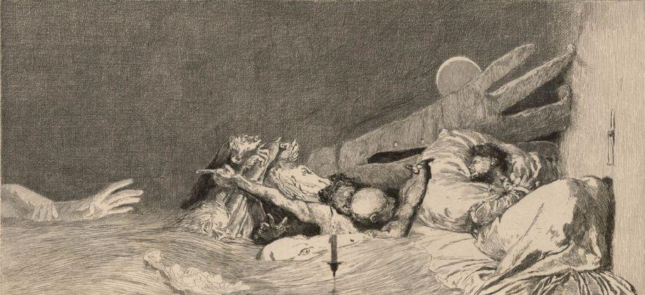 Max Klinger, Un guanto, 1881