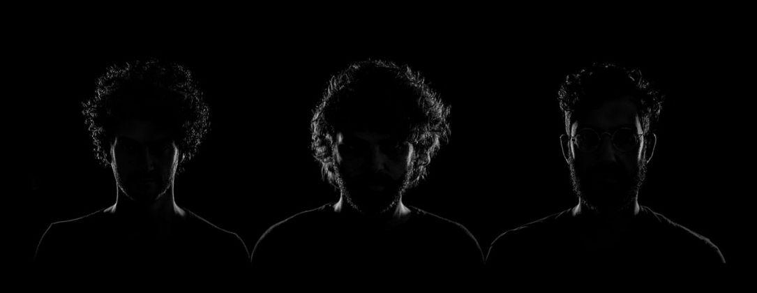 NONE collective. Da sx, Mauro Pace, Gregorio de Luca Comandini, Saverio Villirillo