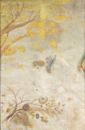 Odilon Redon, Ramo fiorito di giallo, 1900. Paris, Musée d'Orsay
