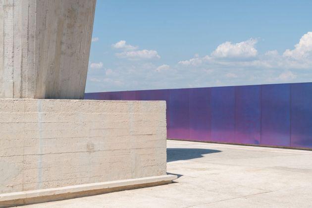 Olivier Mosset, Untitled, 2018. MAMO, Marsiglia