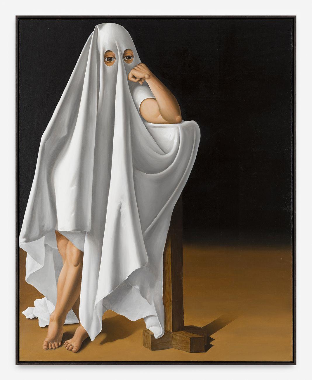 Patrizio Di Massimo, Self portrait as a ghost, 2017. Courtesy the Artist & T293, Roma. Photo Mark Blower