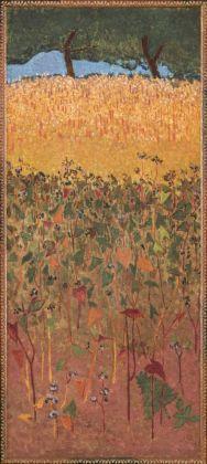 Paul Sérusier, Campo di frumento e grano saraceno, 1900 ca.. Paris, Musée d'Orsay