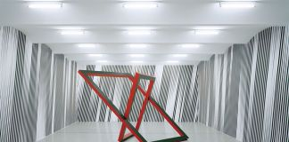 Philippe Decrauzat, Shut and open at the same time, 2008. Courtesy the artist & Gallery Para Romero, Madrid