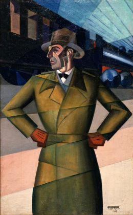 Pippo Rizzo, Il nomade, 1929. Palermo, Galleria d'Arte Moderna