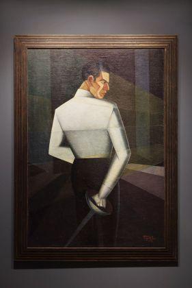 Pippo Rizzo, Schermitore Salafia, 1928. Courtesy of Fondazione Sicilia.