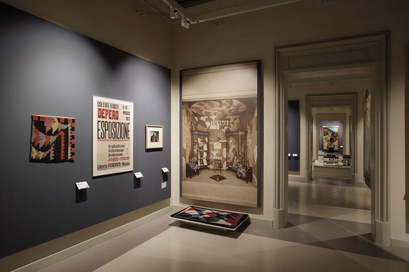 In mostra a palermo l 39 arte futurista di pippo rizzo - Arte della casa ...
