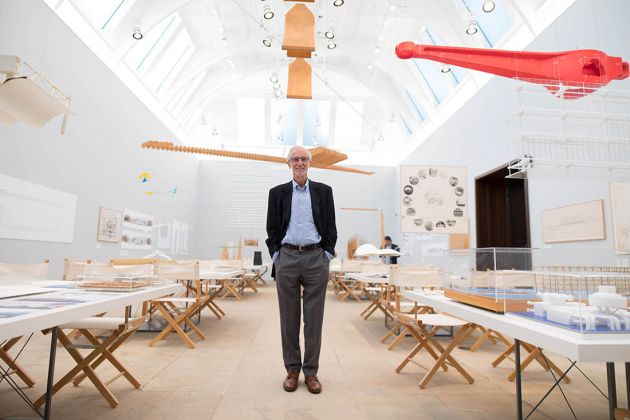 Renzo Piano. The Art of Making Buildings. Installation view at the Royal Academy of Arts, Londra 2018. Photo © David Parry ‒ Royal Academy of Arts