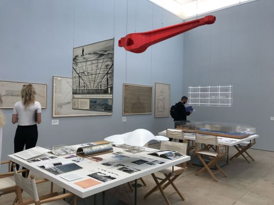 Renzo Piano. The Art of Making Building. Exhibition view at Royal Academy of Arts, Londra 2018. Photo Mario Bucolo