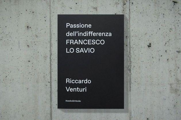 Riccardo Venturi – Passione dell'indifferenza (Humboldt Books, Milano 2018)