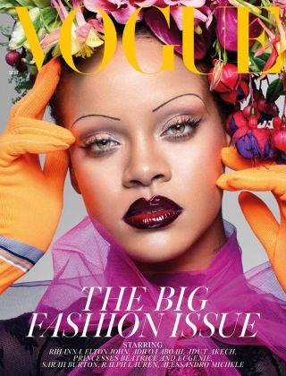 Rihanna sulla copertina di Vogue