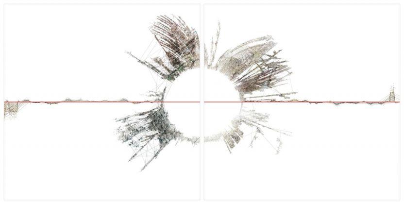 Ryoichi Kurokawa, oscillating continuum, 2013. © l'artista