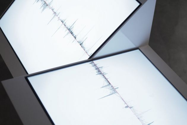 Ryoichi Kurokawa, oscillating continuum, 2013. © l'artista. Courtesy Fondation Boghossian