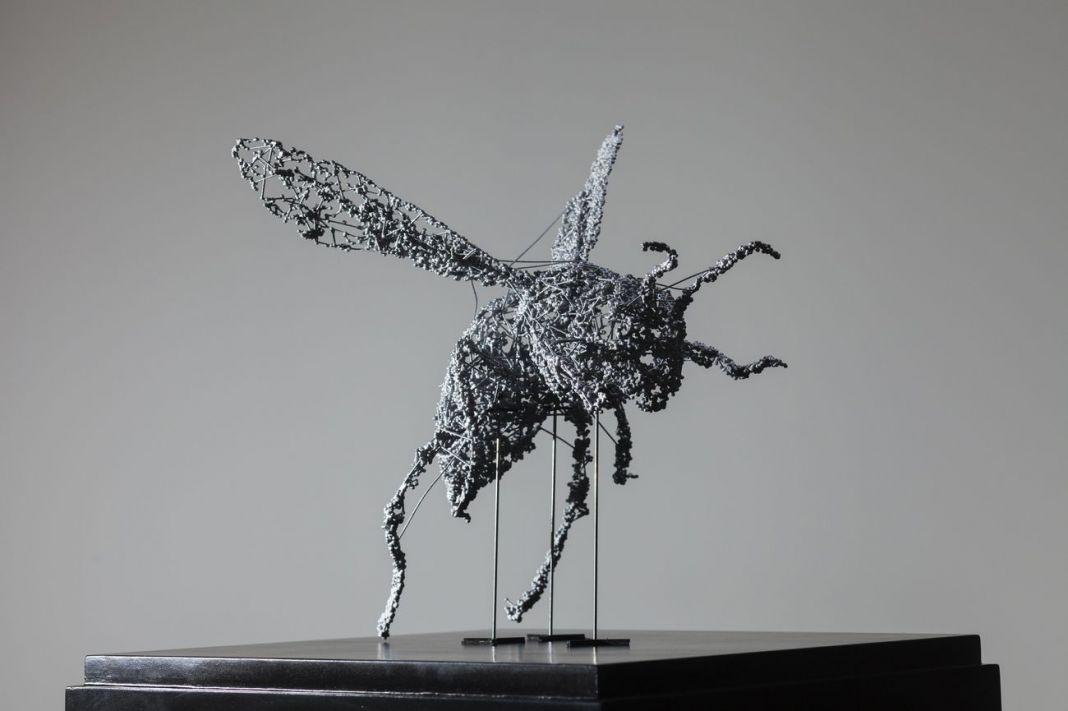 Ryoichi Kurokawa, renature..insecta #2 [ prototype ], 2015. © l'artista. Courtesy Fundación Telefónica Lima