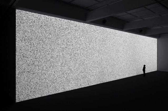 Ryoji Ikeda. Eye Filmmuseum, Amsterdam 2018. Photo Ryuichi Maruo
