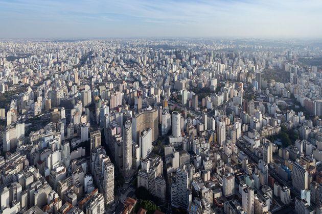 Sao Paulo. Photo Iwan Baan