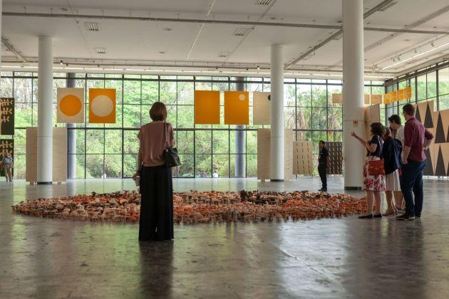 Sezione curata da Antonio Ballester Moreno, 33esima Biennale di San Paolo © Pedro Ivo Trasferetti / Fundação Bienal de São Paulo