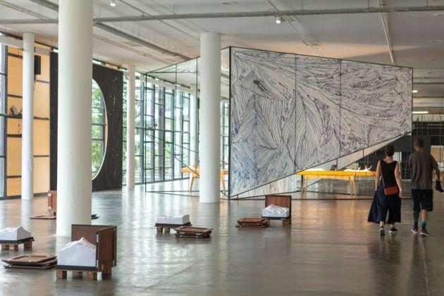 Sezione curata da Claudia Fontes, 33esima Biennale di San Paolo © Pedro Ivo Trasferetti / Fundação Bienal de São Paulo