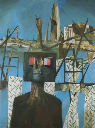 Sidney Nolan, After Glenrowan Siege (Second Ned Kelly Series), 1955. MoMA, New York