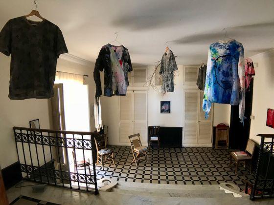 Thomas Lange - Mutsuo Hirano, installazione a Casa Spazio. Ph. Laura Daddabbo