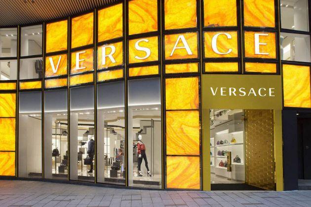 Lo store di Versace