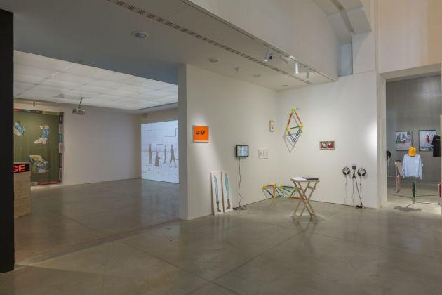 That's IT! Sull'ultima generazione di artisti in Italia e a un metro e ottanta dal confine. Exhibi-tion view at MAMbo – Museo d'Arte Moderna di Bologna, 2018. Photo E&B Photo