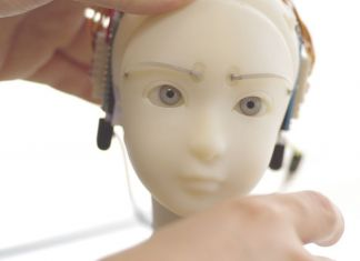 Takayuki Todo, SEE – Simulative Emotional Expression Robot © Takayuki Todo, courtesy AE_2018