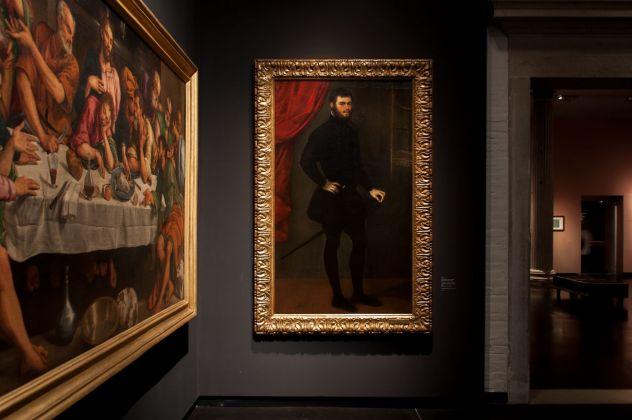 Tintoretto, Ritratto di Nicolò Doria, 1545, installation view at Gallerie dell'Accademia, Venezia 2018, photo Irene Fanizza
