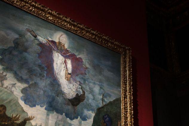 Tintoretto, Sant'Agostino risana gli sciancati (dettaglio), 1549-50, installation view at Palazzo Ducale, Venezia 2018, photo Irene Fanizza