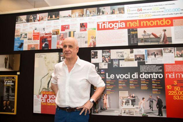Trent'anni Uniti. Inaugurazione della mostra a Palazzo Reale, Napoli 2018. Photo (c) Salvatore Pastore
