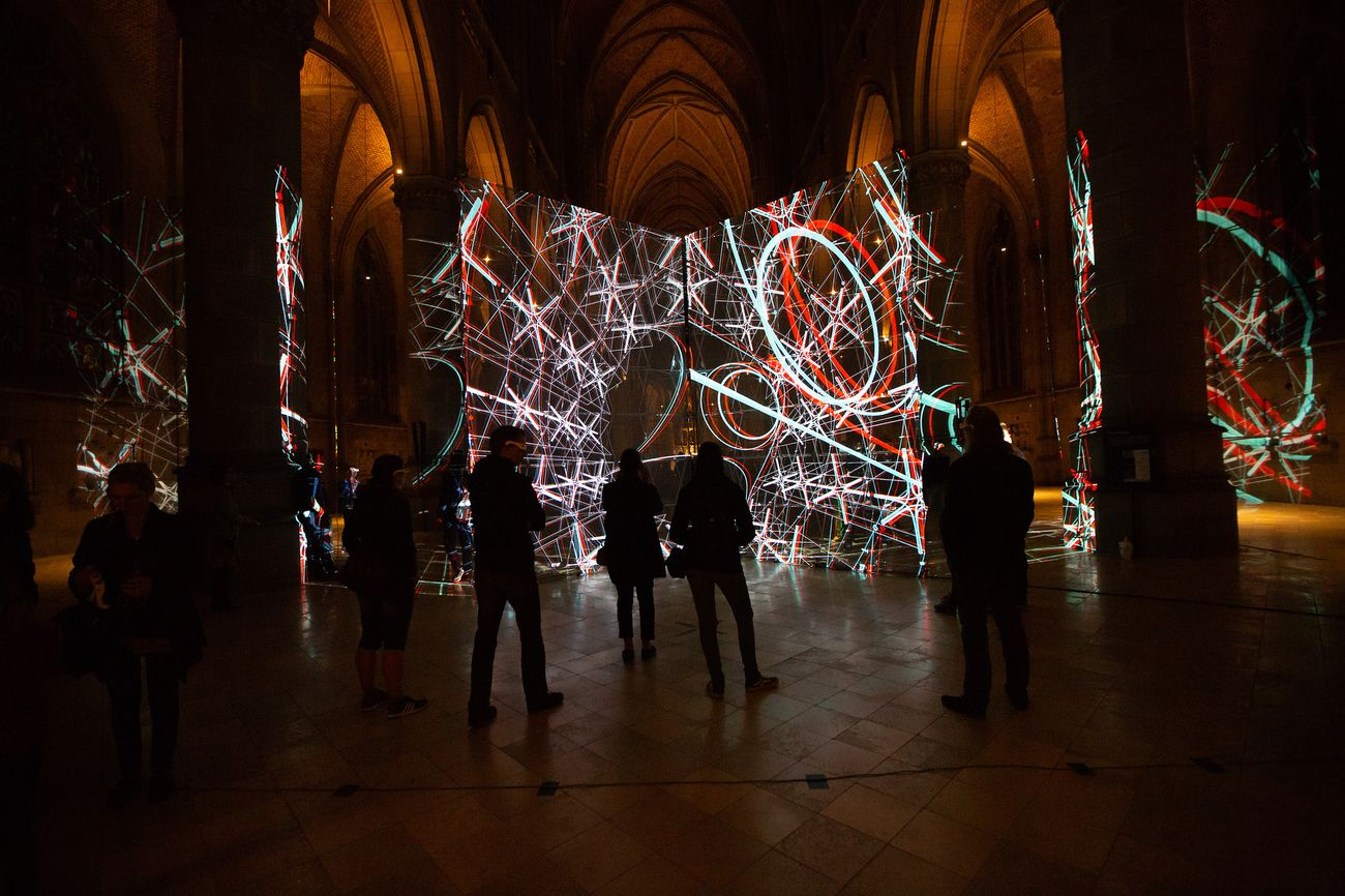 Uwe Rieger, Yinan Liu, LightTank, presso la cattedrale di Santa Maria © Tom Mesic, courtesy AE_2018