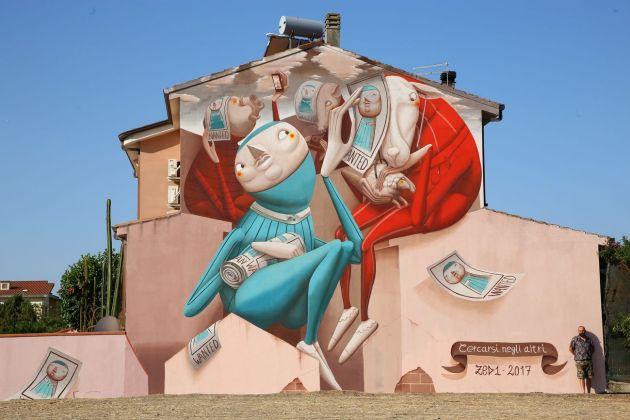 ZED1, Cercarsi negli altri, San Gavino Monreale. Photo credits Matteo Cognini