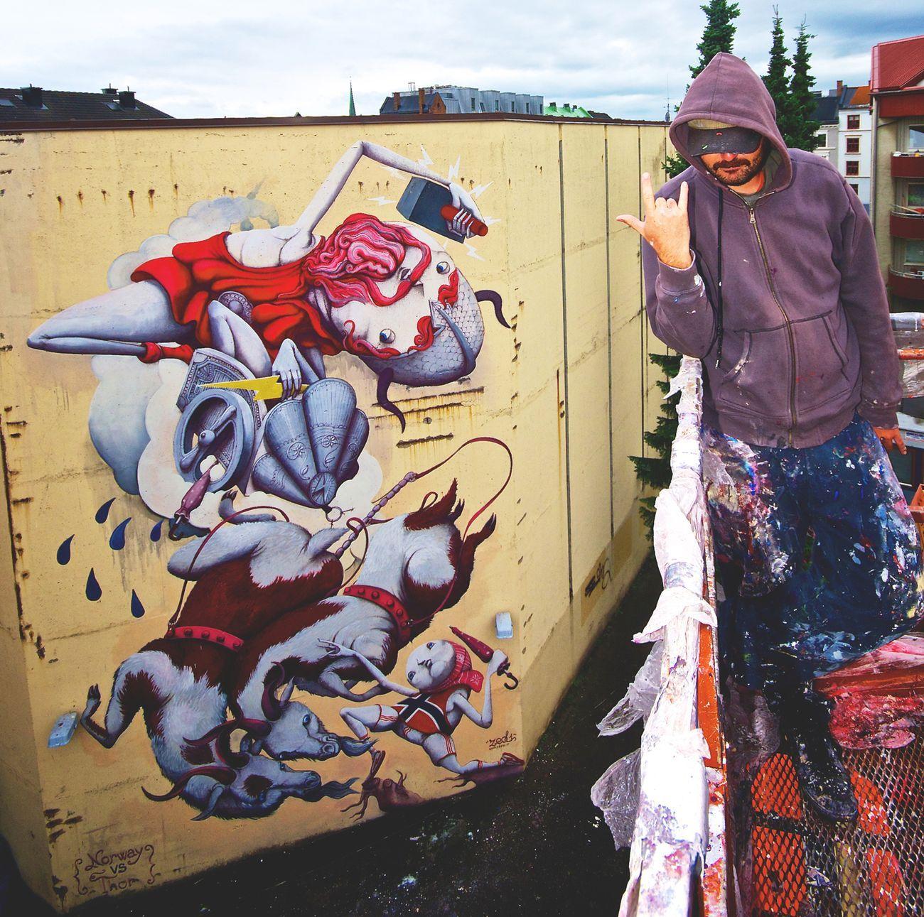 ZED1, Norvegia contro Thor, Oslo