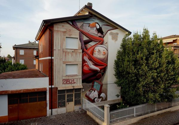 ZED1, Quella città troppo stretta, Carpi. Photo credits Matteo Cognini