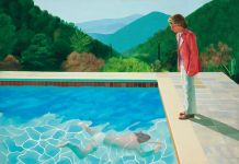 Portrait of an Artist (Pool with Two Figures) di David Hockney