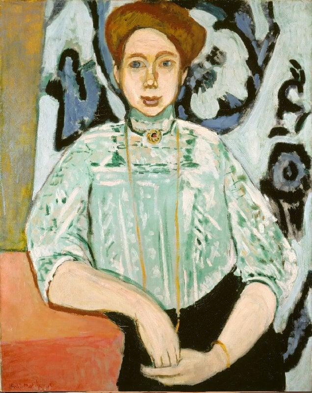 Ritratto di Greta Moll di Matisse, National Gallery Londra
